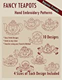 img - for Fancy Teapots Hand Embroidery Patterns book / textbook / text book