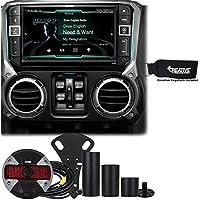Alpine Restyle - X209-WRA 9 GPS, DVD, Radio, Multimedia system & HCE-TCAM1-WRA Spare Tire Rear View Camera
