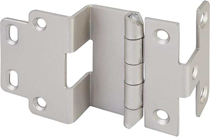 Hardware Resources HR0076 3//4 Inch Overlay Adjustable Wrap Cabinet Door Hinge wi