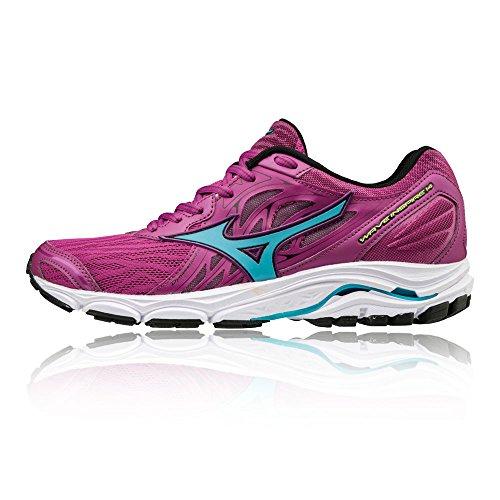 Inspire WOS Pink Mizuno Wave 14 Women's Shoes Black Running vwrqqEI8nF