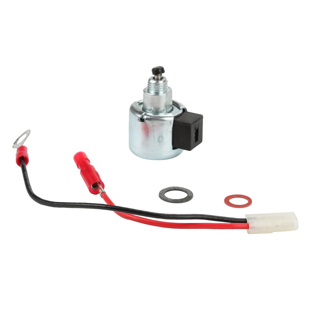 Panari 12 757 33-S Fuel Solenoid Carburetor Repair Kit for Kohler CH11 CH13 CH15 CH16 CV14 CV15 CV16 CV450 CV460 CV461 CV490 CV491 CV492 CV493 Engine John Deere STX38 LX255 AM128242 AM128816