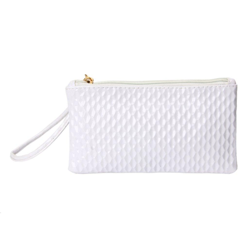 SimpleLif Leather Envelope Clutch Bag,Evening Shoulder Bag, Messenger Phone Bag for Bridal Wedding Handbag Prom Bag
