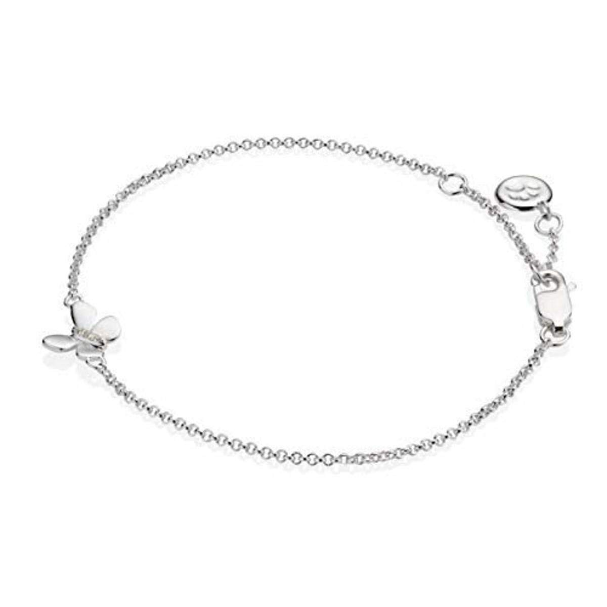 18Ct Gold Over 925 Sterling Silver Pink Sapphire White Topaz Tennis Bracelet