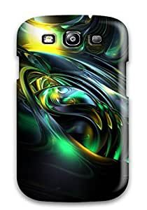 Hot Snap On Case Cover Skin For Galaxy S3(conch)