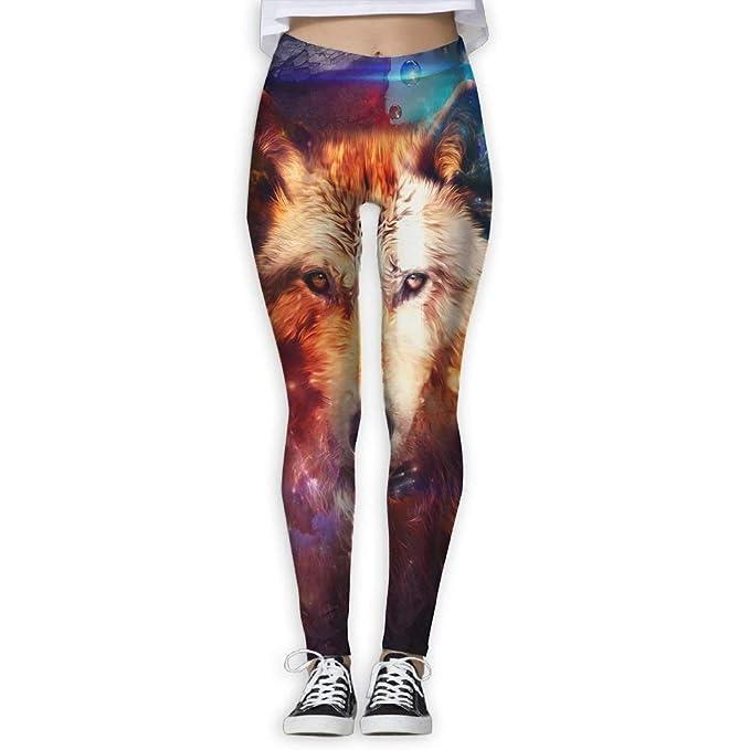 Deglogse Yoga Pants,Workout Leggings,Universe Storm Neon ...