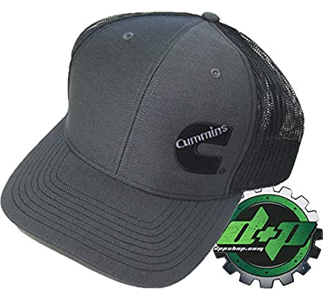 f783118f2f4 Image Unavailable. Image not available for. Color  Diesel Power Plus Dodge Cummins  Trucker hat Ball Richardson Charcoal Grey Black ...