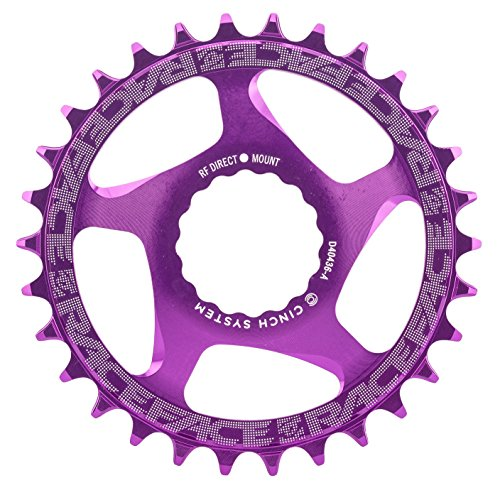 Race Face Narrow Wide Cinch Direct Mount Chainring Purple, 30T from Race Face