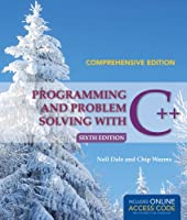 Programming And Problem Solving With C++: Comprehensive, 6th Edition Front Cover