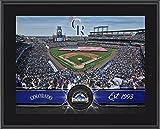 "Colorado Rockies 10"" x 13"" Sublimated Team Stadium Plaque - Fanatics Authentic Certified - MLB Team Plaques and Collages"