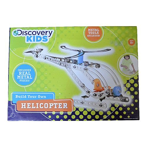 Discovery Kids Build Your Own Helicopter Kit (Build Helicopter compare prices)