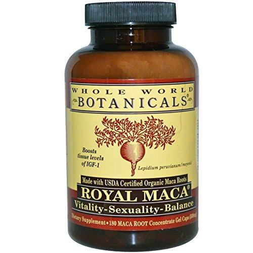 Whole World Botanicals – Organic Royal Maca 180 – Botanicals Herbs Review
