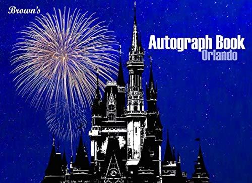 Autograph Disney Albums (Brown's Autograph Book Orlando)