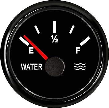 Electronic measuring equipment Universal Multiple Backlight 52mm Water Level Gauge Meter Indicator