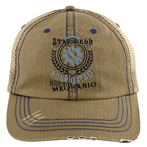 5925064f6 I'm A Mechanic Hat, Sleep With A Mechanic Trucker Cap (Trucker Cap ...