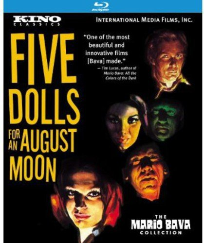 Blu-ray : Five Dolls For An August Moon (Remastered)
