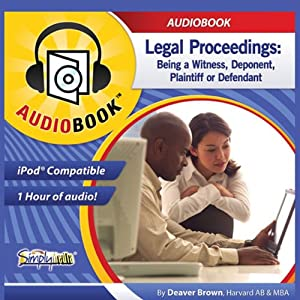 Legal Proceedings Audiobook