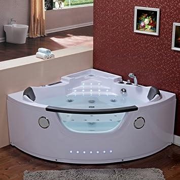 Wasserverbrauch Badewanne sicilia 678 heizung whirlpool ecke modernes badewanne mit beschläge