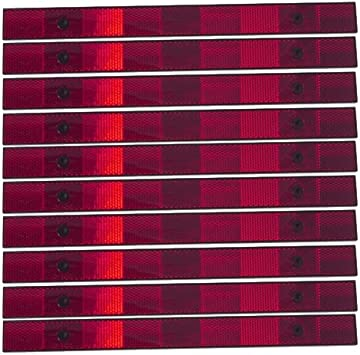 Grote 41122 Red 12 Strips Reflective Strips