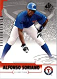 2004 SP Authentic #13 Alfonso Soriano Card