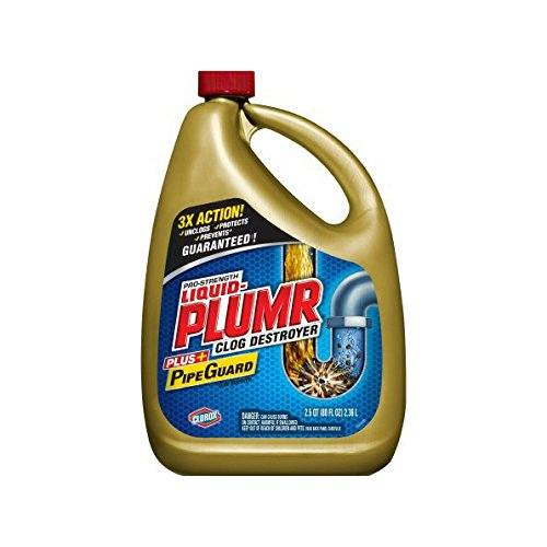 Liquid-Plumr Pro-Strength Full Clog Destroyer Plus...