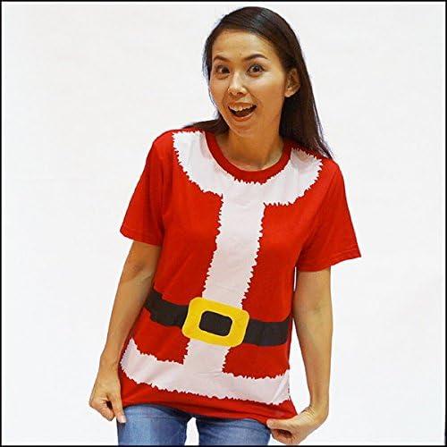 サンタガールコスチューム Tシャツ Mサイズ 23908