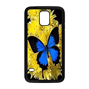 [MEIYING DIY CASE] For Samsung Galaxy S5 -Beautiful Butterfly Pattern-IKAI0445980
