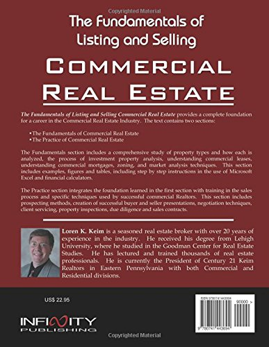 The Fundamentals Of Listing And Selling Commercial Real Estate Keim