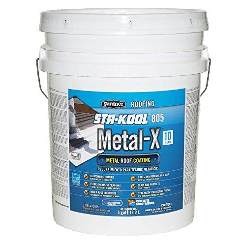 Gardner 5-Gal. Sta-Kool 805 Metal-X Metal Roof Coating