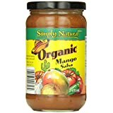 SIMPLY NATURAL Salsa-Mango 470 Milliliter