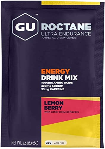 GU Energy Roctane Ultra Endurance Energy Drink Mix, Lemon Berry, 2.3 Ounce Sample