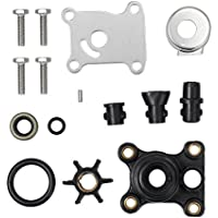 LiNKFOR 9.9hp & 15hp Impeller Water Pump Repair Kit for Johnson/Evinrude 394711 0394711 Water Pump Kit