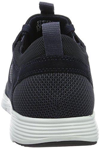 Geox Men's U Snapish B Low-Top Sneakers, Blue Blue (Navyc4002)