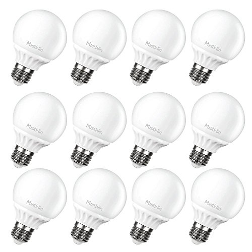 MustWin 12 Pack G25 LED Light Bulbs