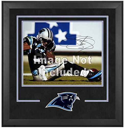 Carolina Panthers Deluxe 16x20 Horizontal Photograph Frame by Mounted Memories