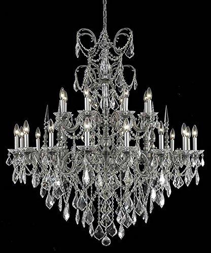 (Elegant 9724G44PW/SA Athena Foyer in Pewter)
