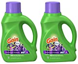Gain Liquid Laundry Detergent, Moonlight Breeze, 50 Ounce (Pack of 2)