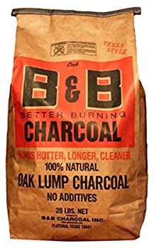 B&B Oak Lump Charcoal