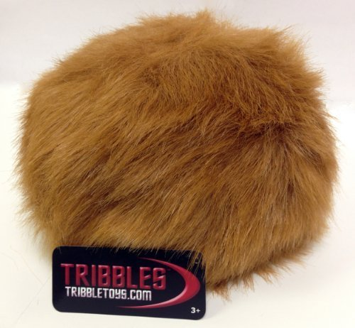 (Star Trek Tribble, Light Brown - New Dual Sound Version - Large Size)