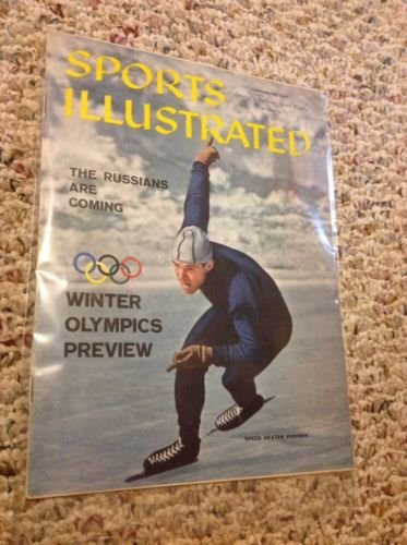 Sports Illustrated Olympic Preview February 15, 1960 from Unknown