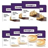 LA Weight Loss Lites - Chocolate Peanut Butter & Creamy Cappuccino - 8 Boxes