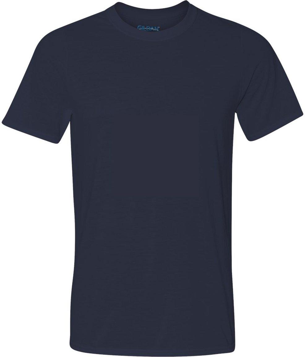 Gildan メンズTシャツ コアパフォーマンス B00BFSAL0U M|ネイビー ネイビー M
