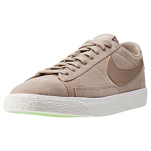 NIKE Men's Blazer Low Khaki/Khaki/Fresh Mint/Sail Skate Shoe 9 Men - Shop Nike Blazer