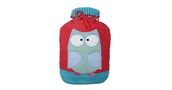 Amazon.com: Bonita y suave funda tejida para bolsa de agua ...