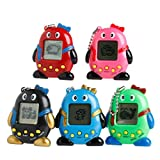 Mimgo Store Nostalgic Mini Penguins 90S 168 Pets in One Virtual Pet Cyber Pet Toy Tamagotchi (Send Random)