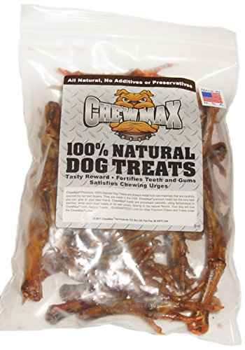 Chewmax Pet Products Chicken Feet, 1-Pound ()