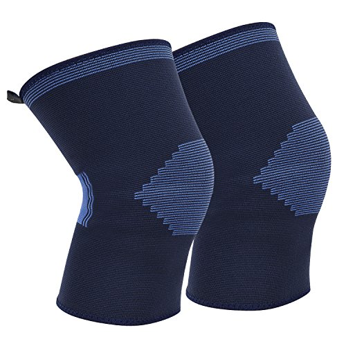 Knee Brace Compression Sleeves Support for Running/Jogging/Basketball and More Sports, suitable for Man/Women/Kids, M by SoarOwl