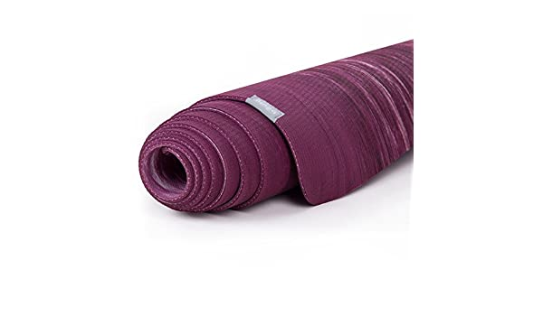 Esterilla de yoga de caucho natural Samurai Marbled, muy ...