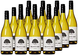 Black Oak Big Time Chardonnay White Wine Case Pack, 12 x 750ml