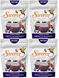 Swerve Sweetener, Confectioners, 12 Ounces (Pack of 4)