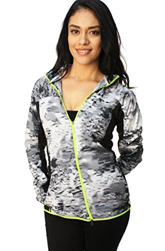 - Nike Printed Trail Kiger Full-Zip Running Jacket Black/Volt 651609-010 (S)